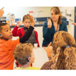 Teaching hearing impaired and deaf