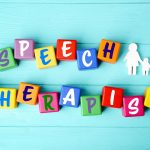 how to become a speech pathologist or speech therapist article header with letters in word blocks